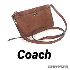 Coach swingpack crossbody purse bag leather RARE
